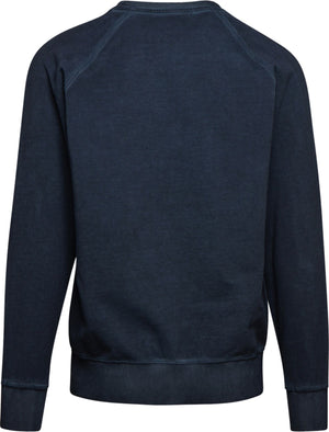 Diadora Spectra Faded Sweatshirt Blue