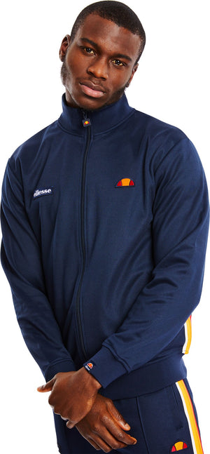 Ellesse Agora Zip Front Track Top Blue