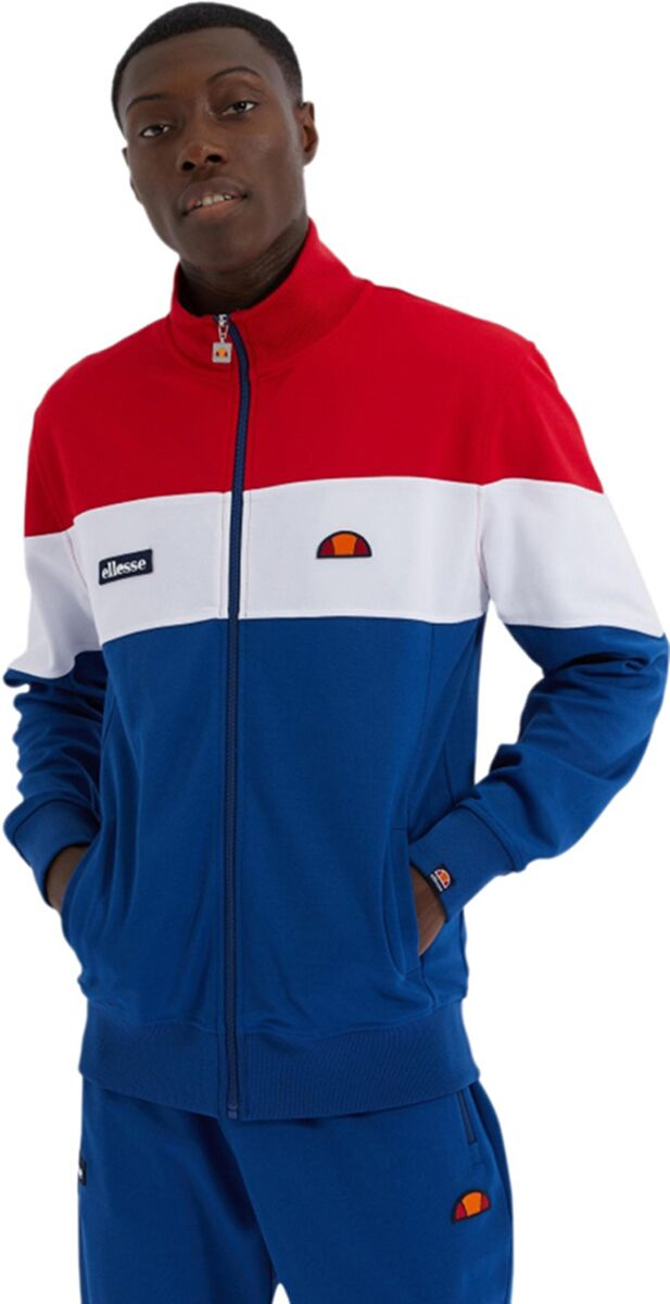 Ellesse Caprini Track Top Blue