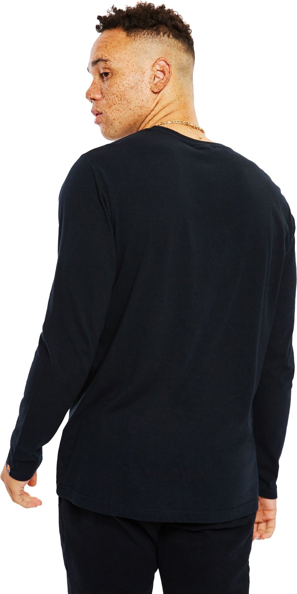 Ellesse-Grazie-Long-Sleeve-T-Shirt-Black