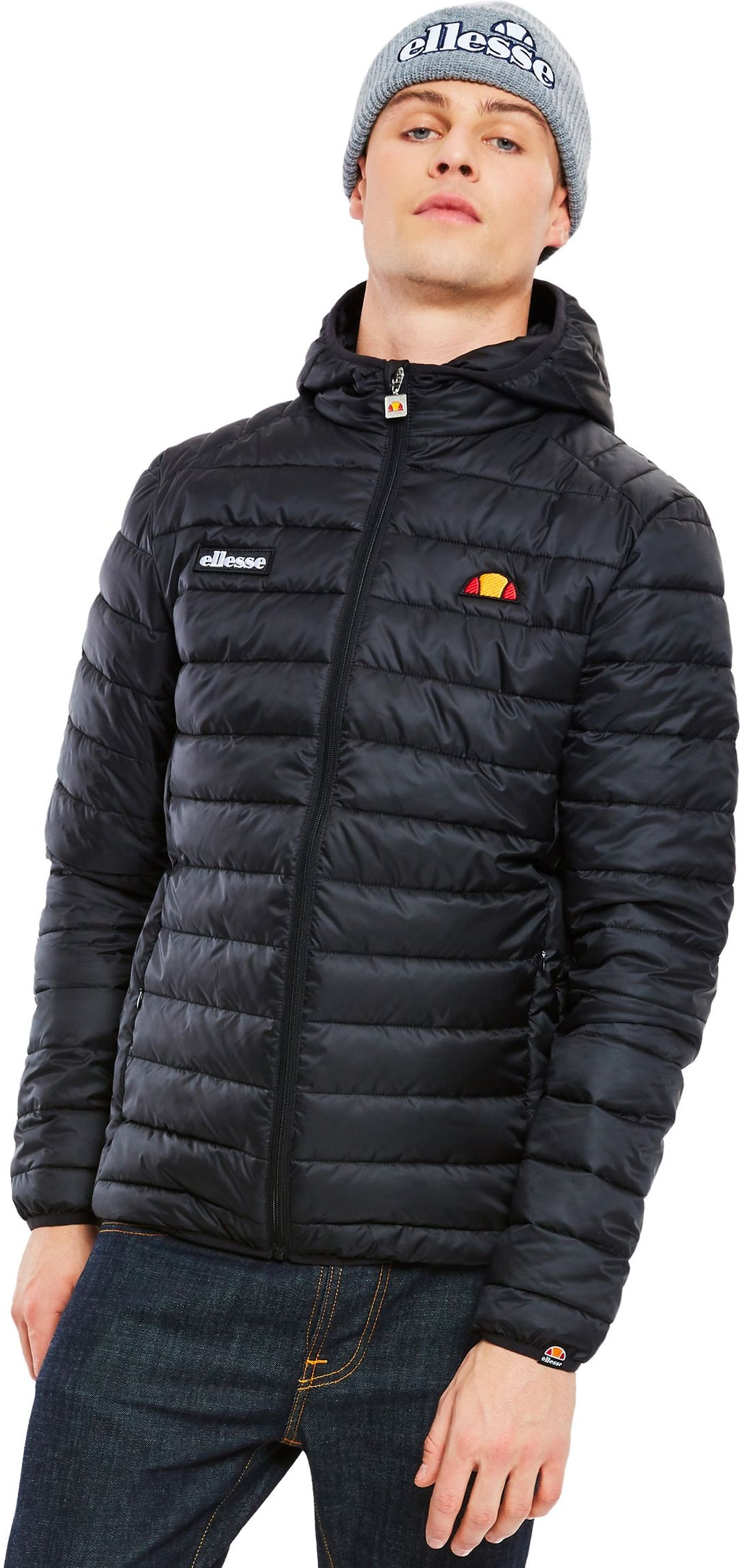 Ellesse-Lombardy-Padded-Jacket-Black