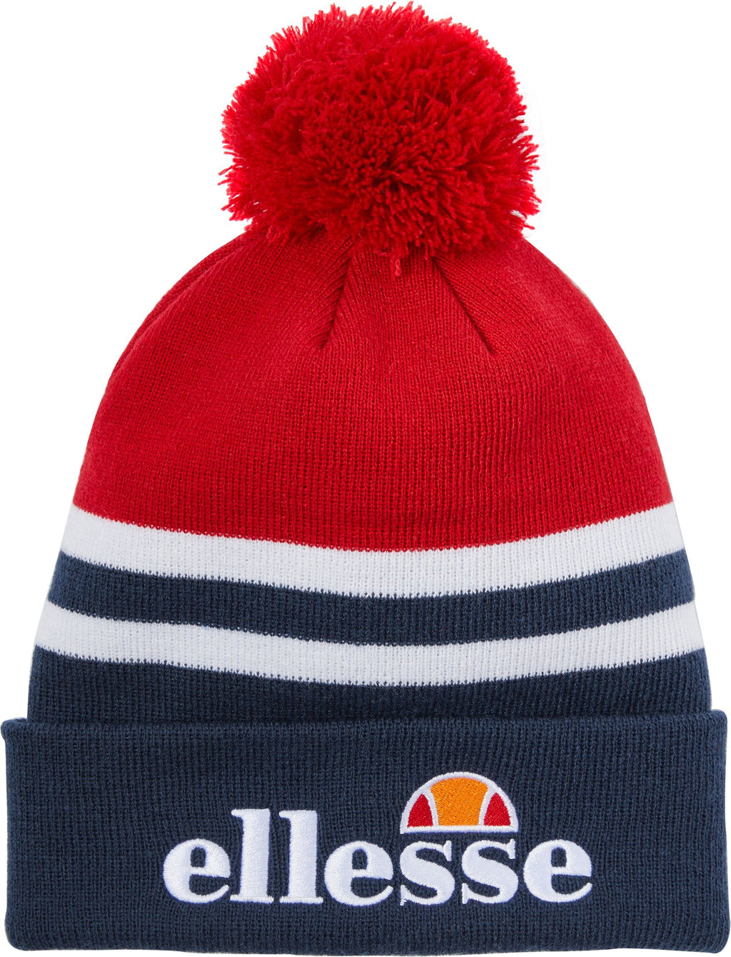Ellesse-Meddon-Bobble-Beanie-Hat-Red