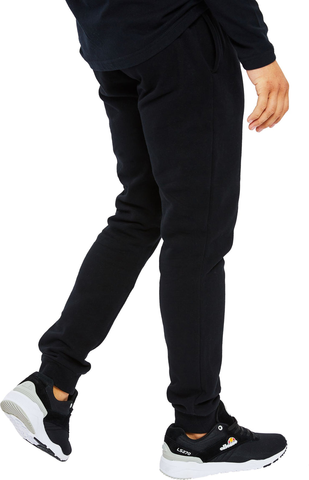 Ellesse Ovest Jogger Bottoms Black