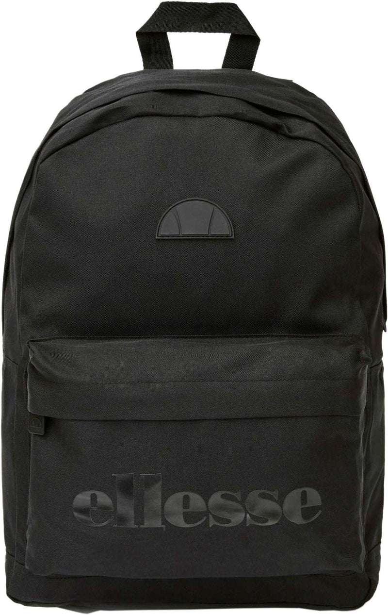 Ellesse Regent Backpack Bag Black Mono