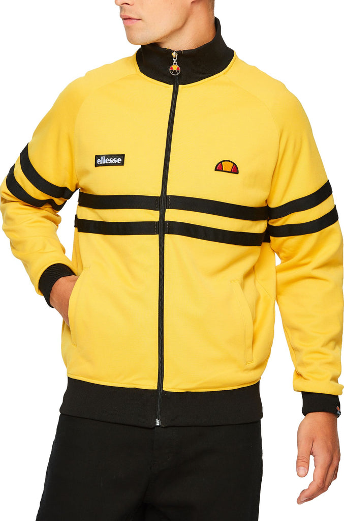 Ellesse Rimini Zip Front Track Top Yellow