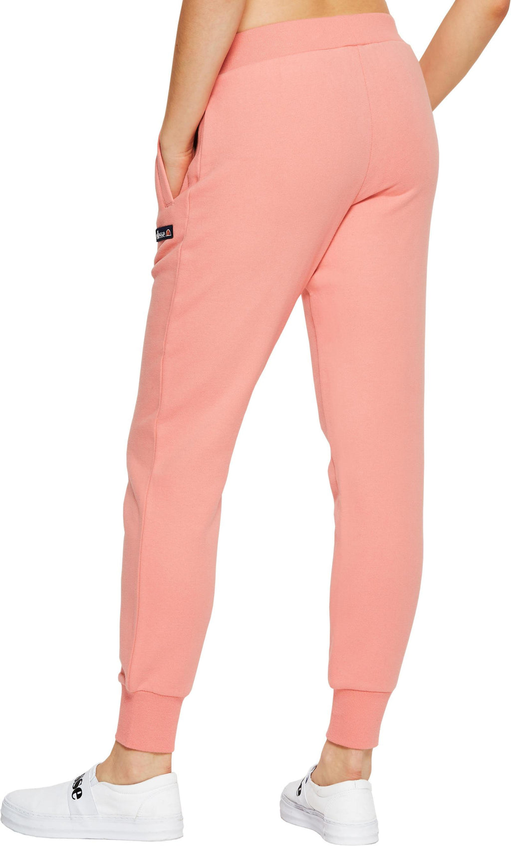 Ellesse Women's Sanatra Sweat Pants Jogger Bottoms Pink
