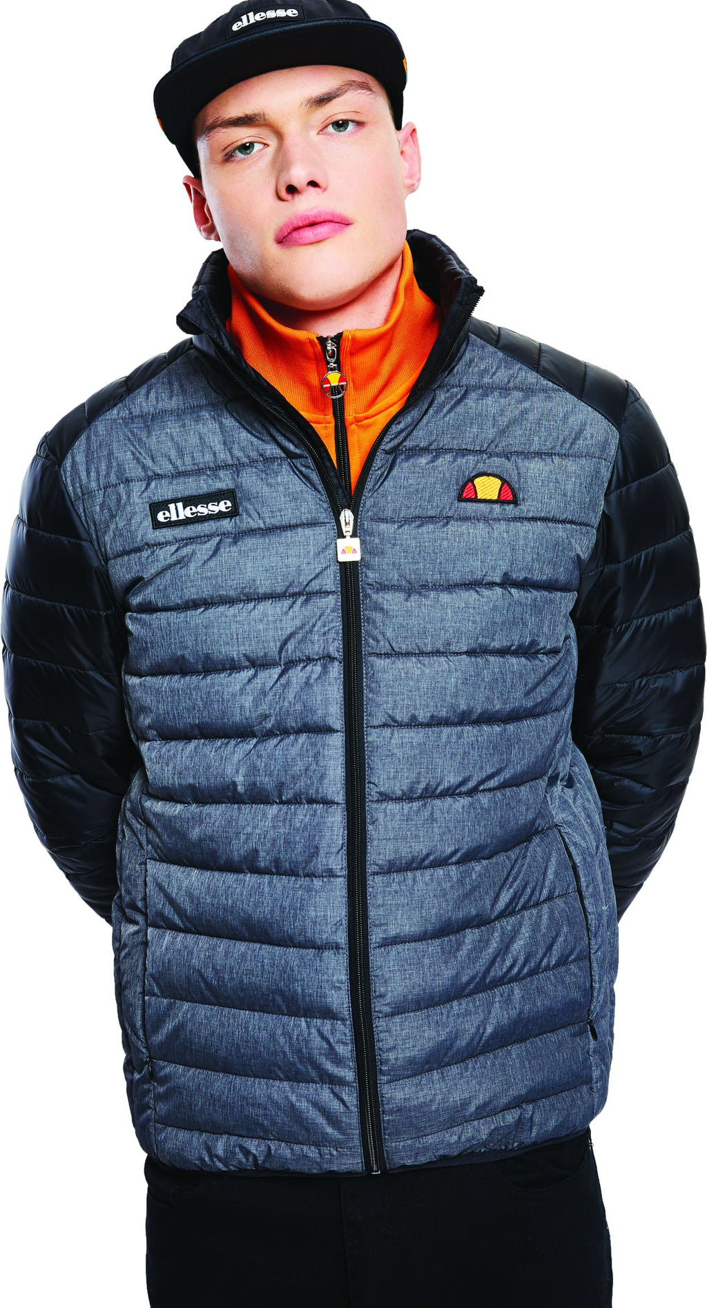 Ellesse-Tartaro-Padded-Jacket-Black