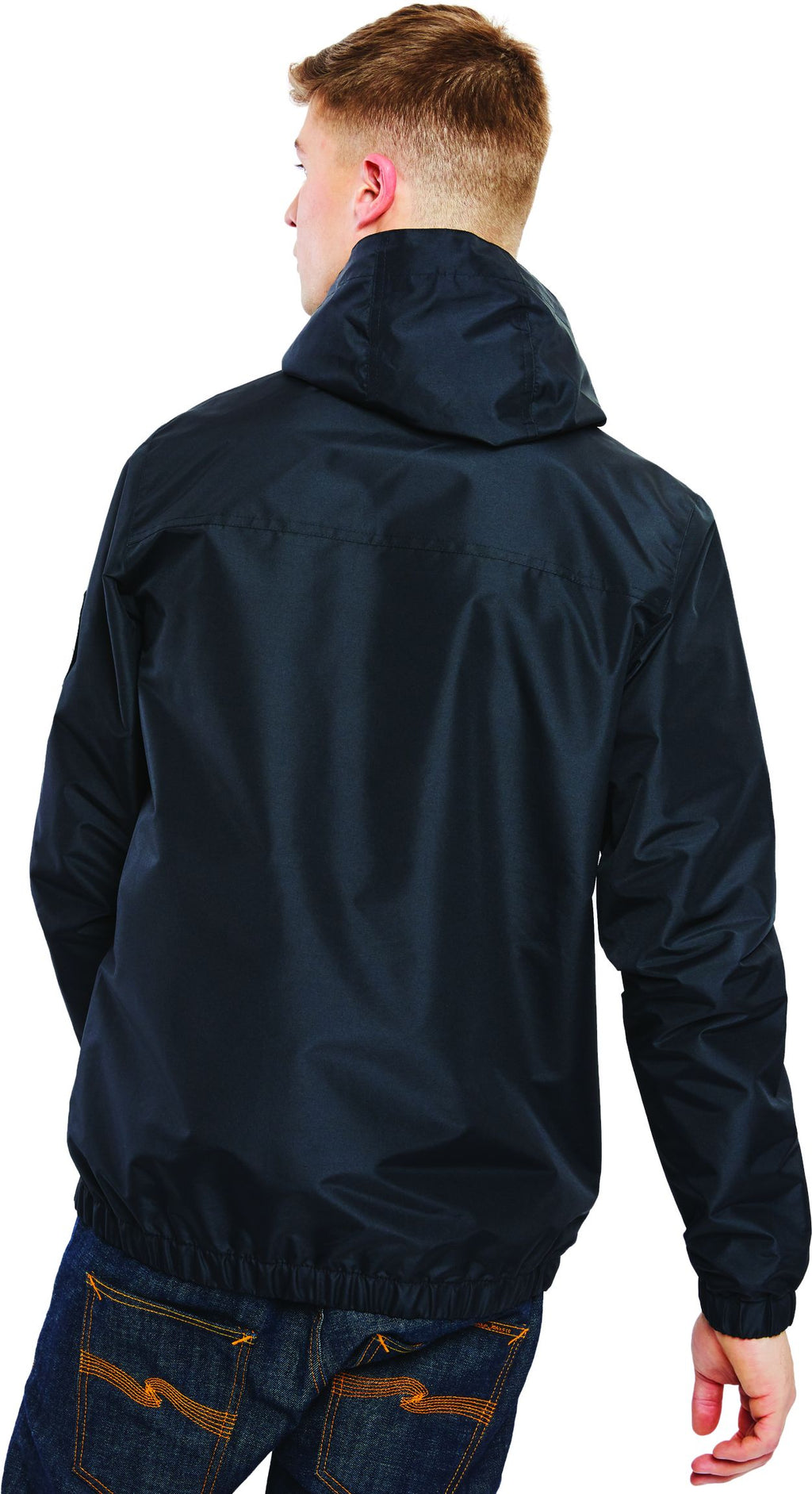 Ellesse Terrazzo Lightweight Hooded Jacket Black