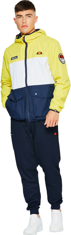 Ellesse Trio Lightweight Hooded Jacket Yellow