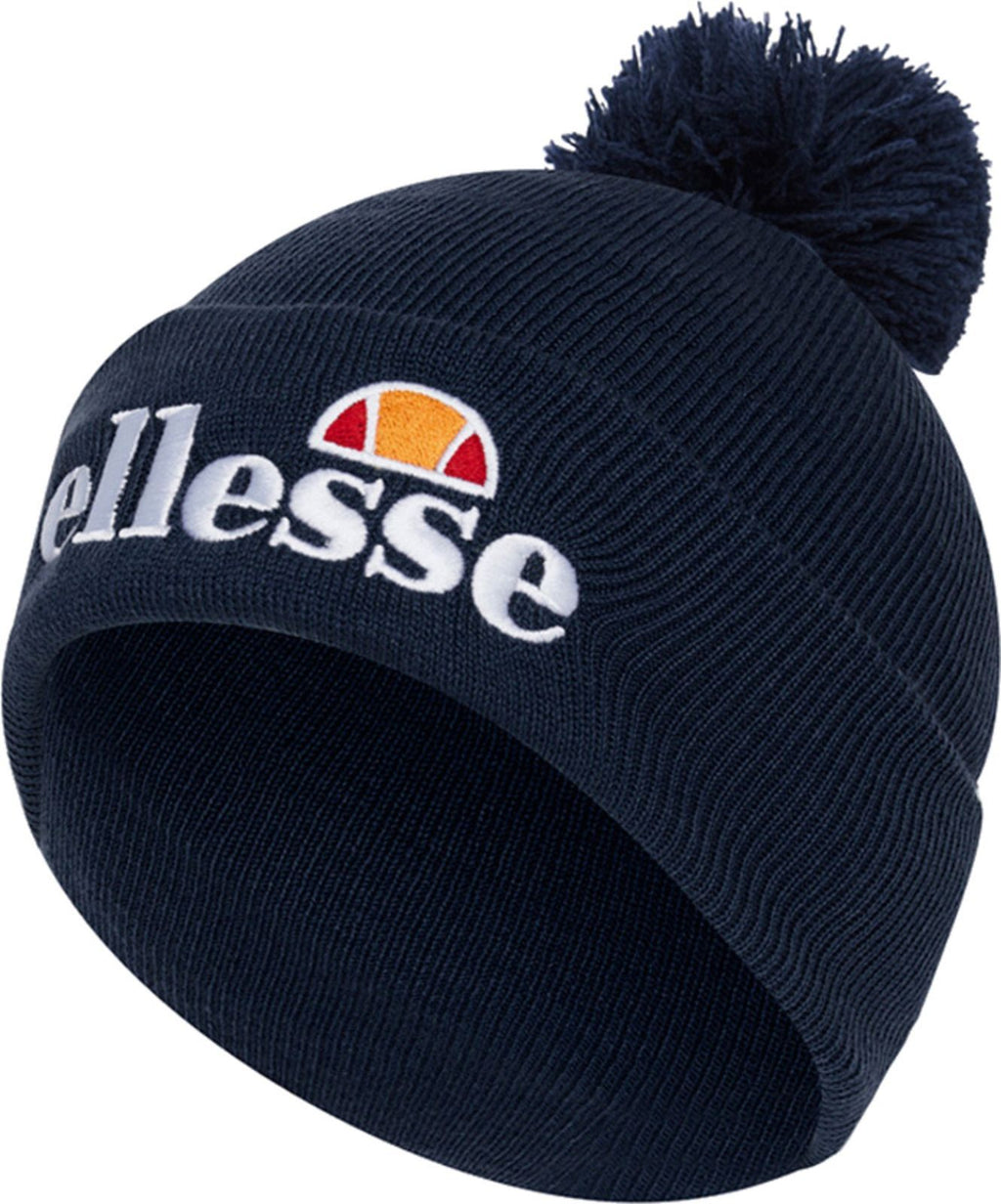 Ellesse Velly Bobble Beanie Hat Navy
