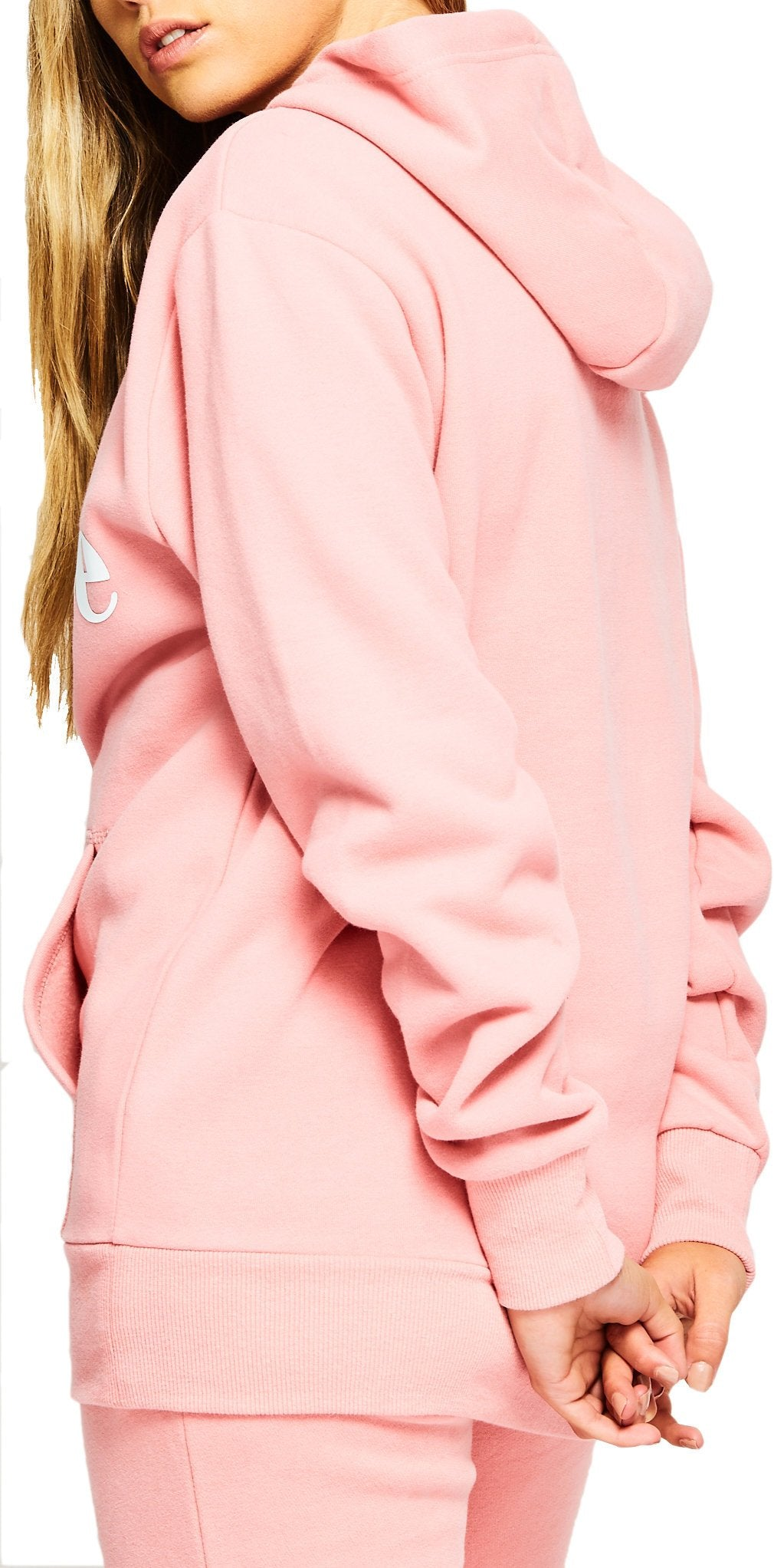Ellesse Women's Torices Popover Sweat Hoodie Pink