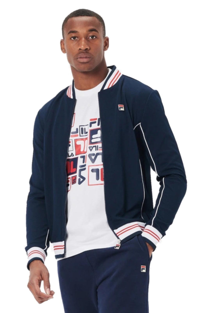 Fila Baranci Track Top Blue