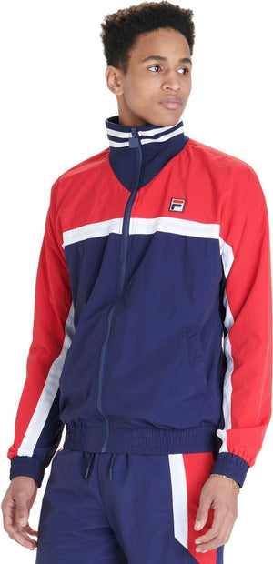 Fila Diego Zip Front Track Top Blue