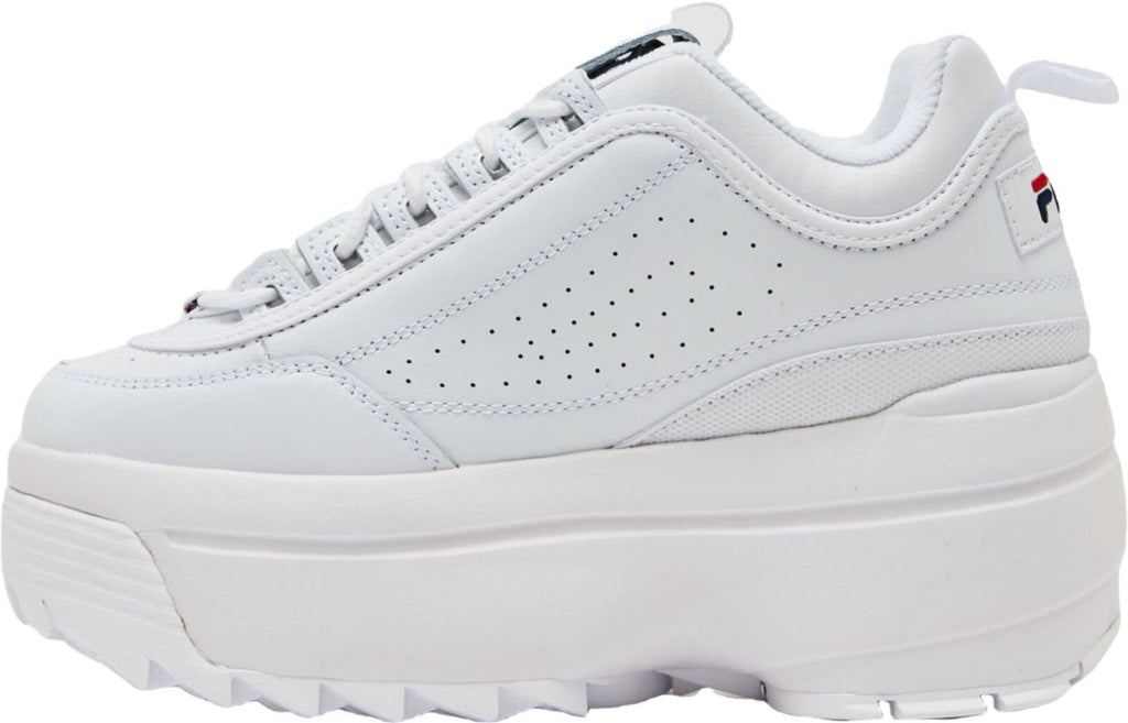 Fila Disruptor II Wedge Trainers White