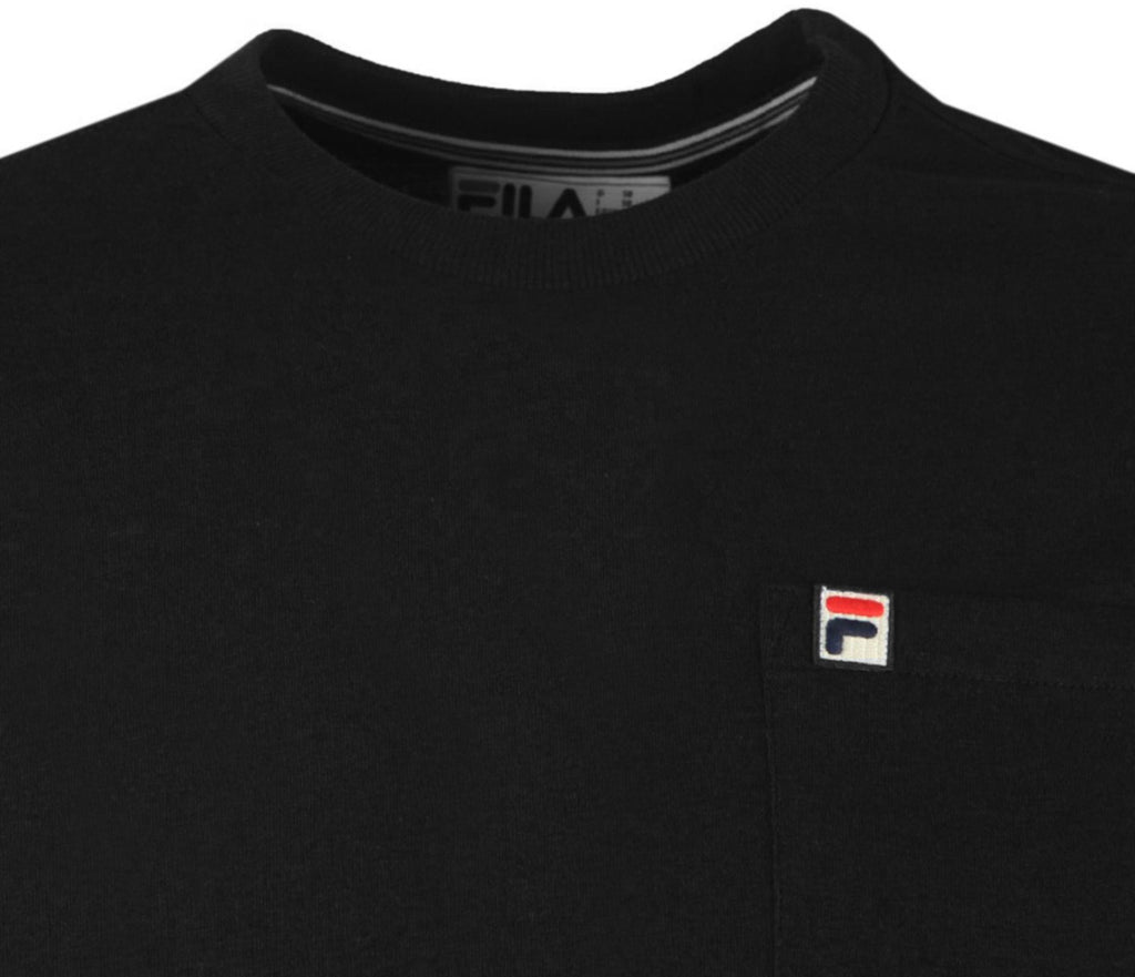 Fila Thames Long Sleeve T-Shirt	Black