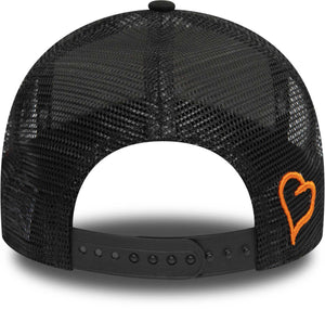 Fresh Ego Kid Mesh Trucker Baseball Cap Black