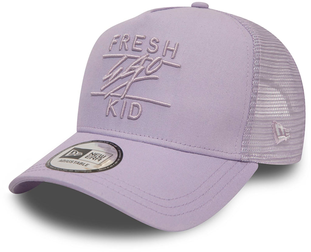 Fresh Ego Kid Mesh Trucker Baseball Cap Lilac