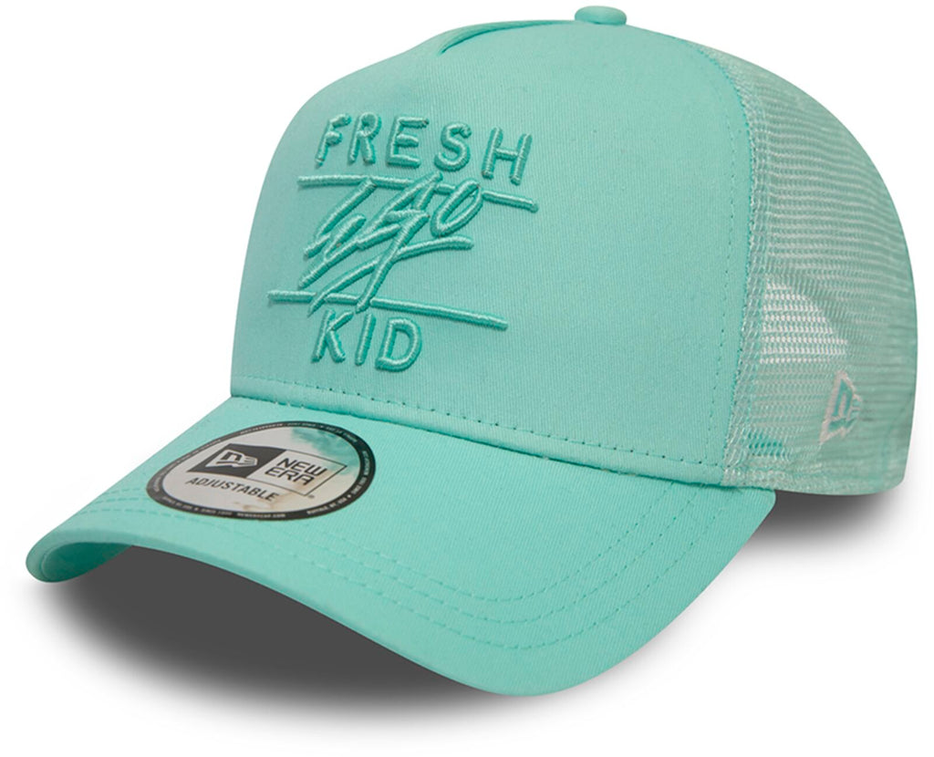 Fresh Ego Kid Mesh Trucker Baseball Cap Mint