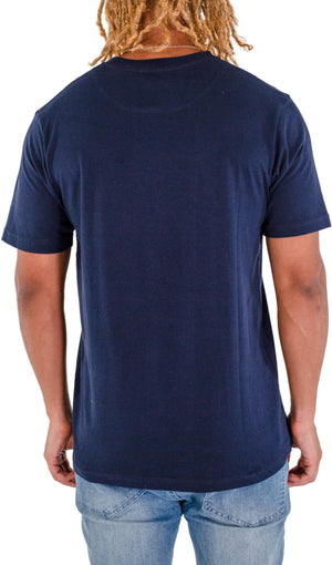 Fresh Ego Kid Script T-Shirt Navy