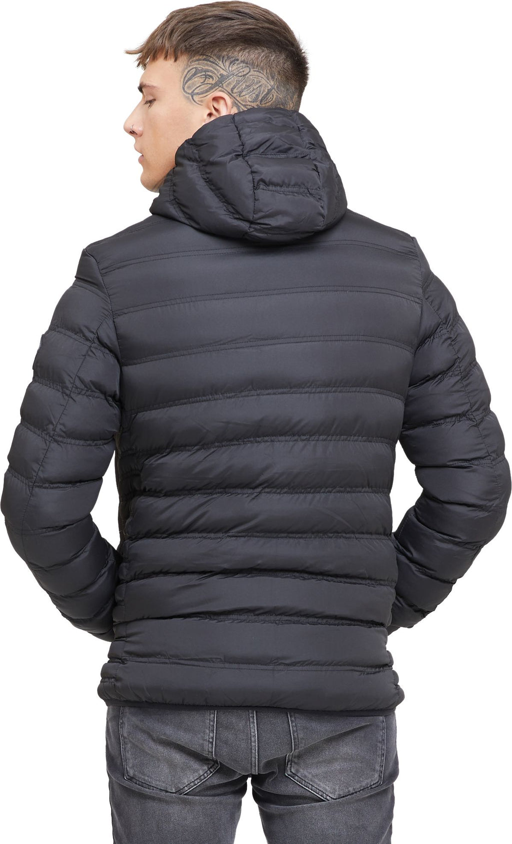 Good For Nothing Element Matte Puffer Jacket Black