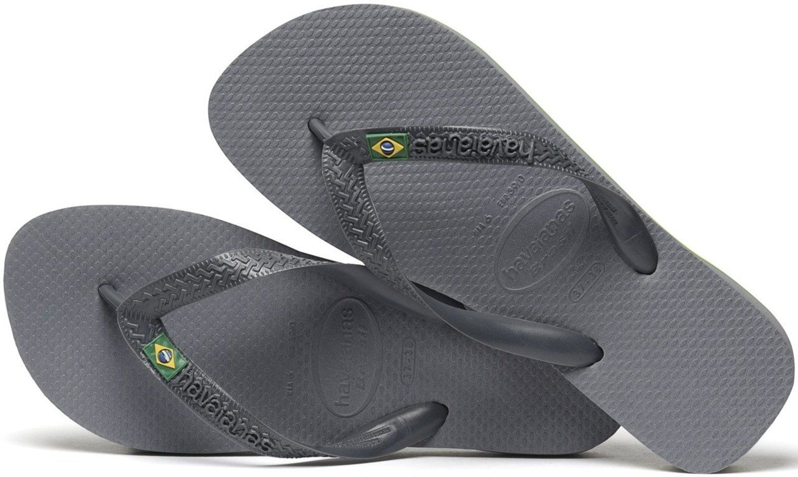 fdf2de660a74ba Havaianas Brazil Toe Post Flip Sandal Pool Shoes Slippers 4000032 Gray 5  Steel Grey 4000032.5178 for sale online