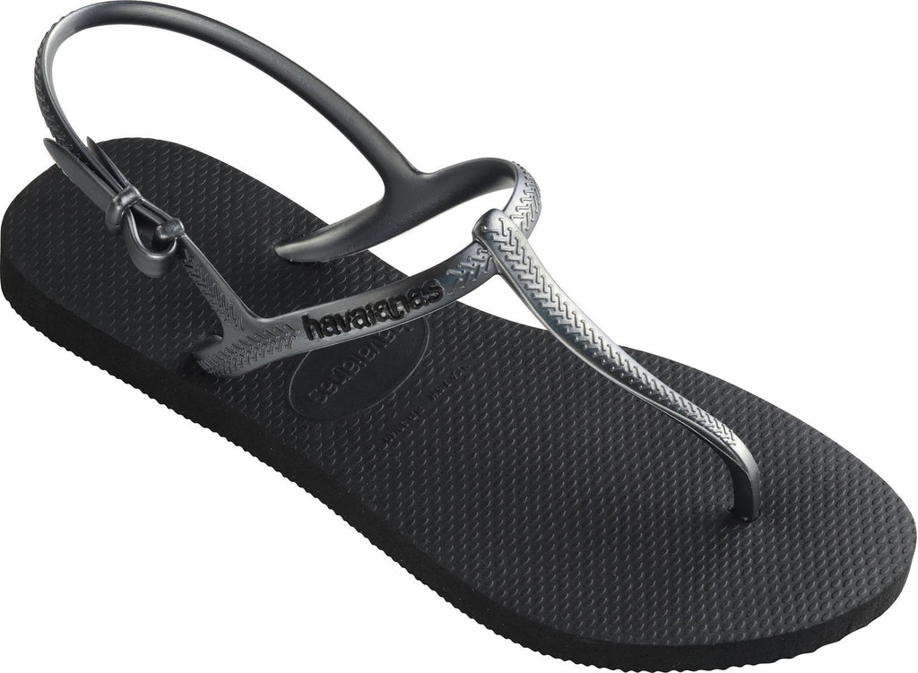 Havaianas Freedom Flip Flops Sandals Black