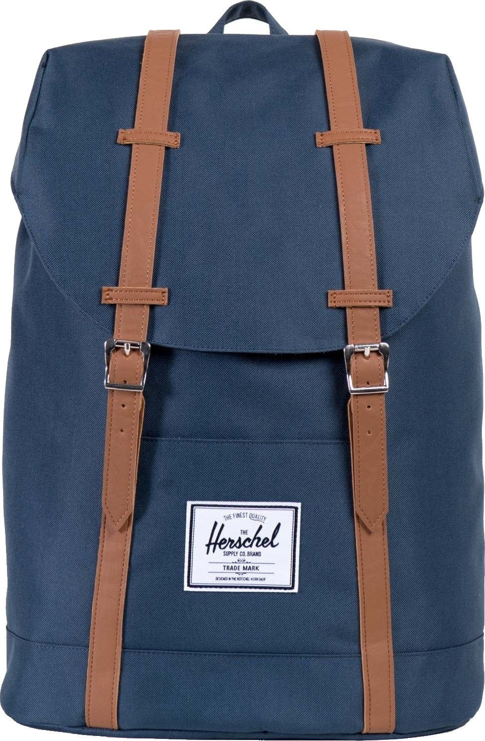 Herschel Supply Co Retreat Straps Backpack Rucksack Bag Navy