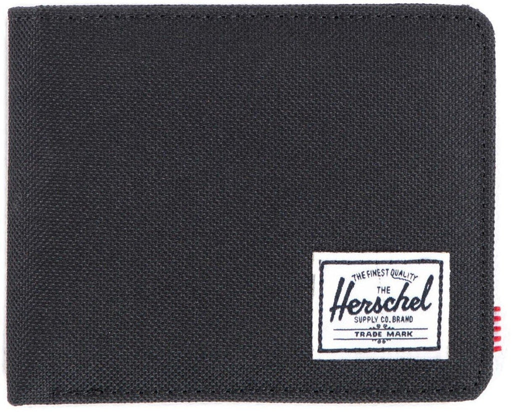 Herschel Supply Co Roy RFID Canvas Wallet Black