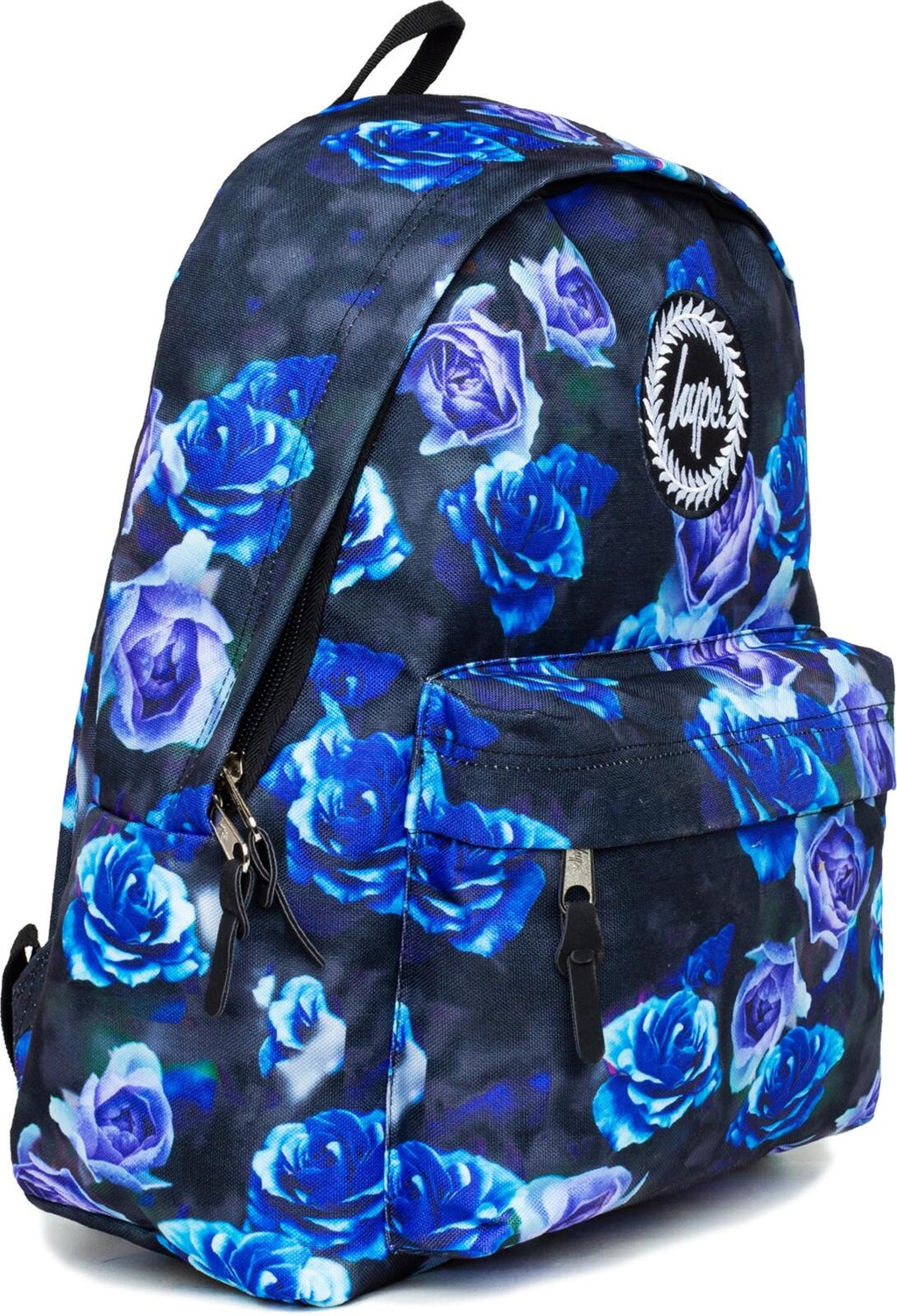 Hype Blue Roses Backpack Bag Blue