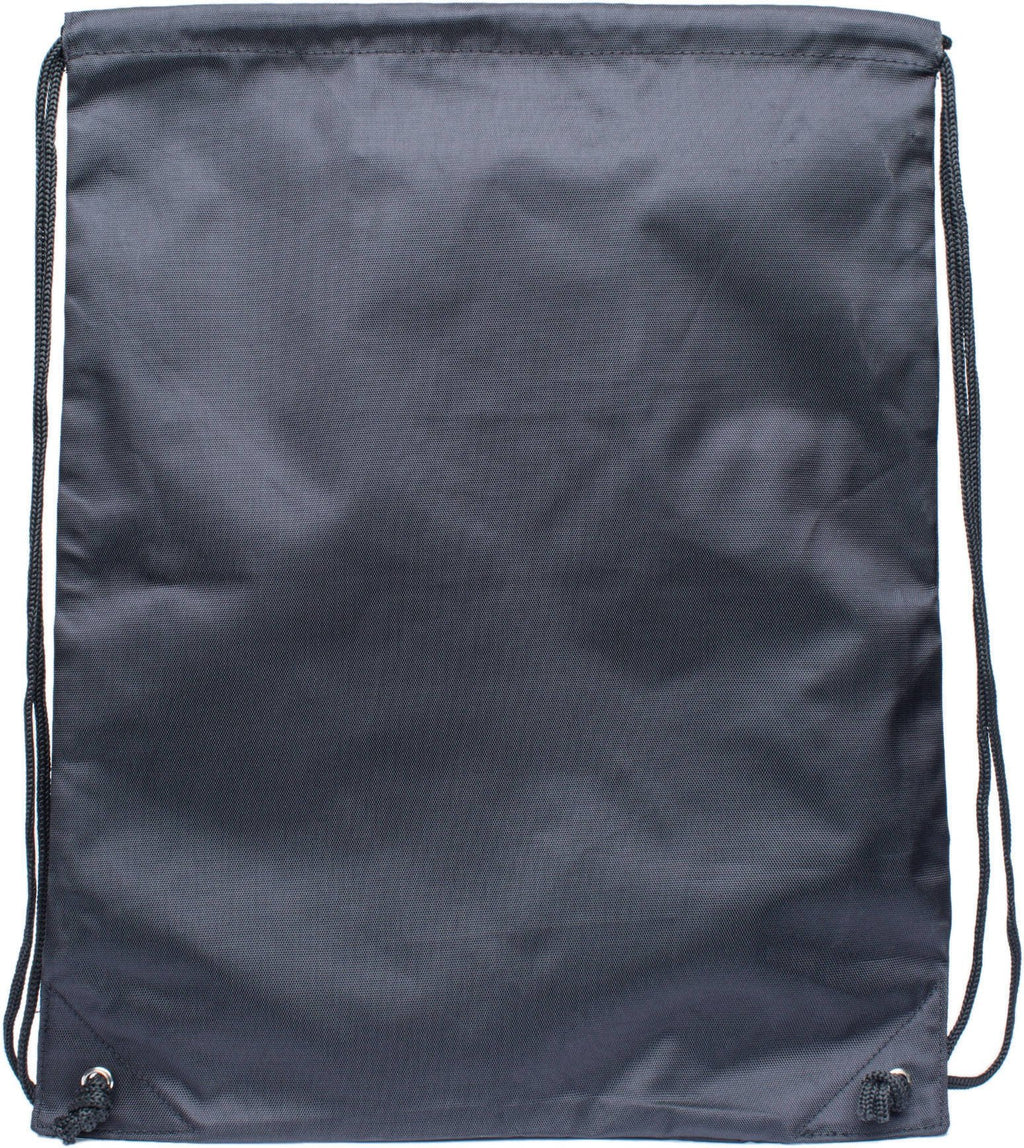 Hype Crest Logo Drawstring Gym Bag Black Black