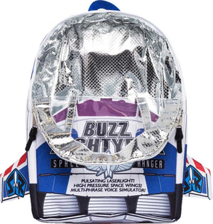 Hype Disney Buzz Lightyear Backpack Bag White