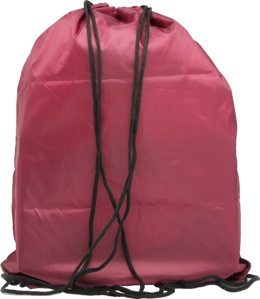 Hype Drawstring Gym Bag Burgundy