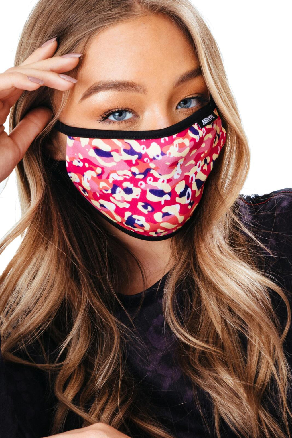 Hype Face Mask 3 Pack Adult Abstract Multi