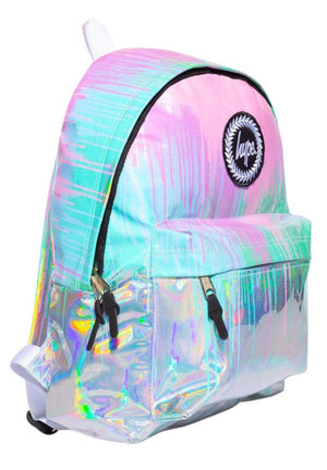 Hype Holo Drips Backpack Bag Multi