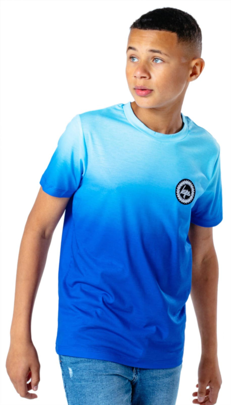 Hype Kids Blue Fade T-Shirt Blue