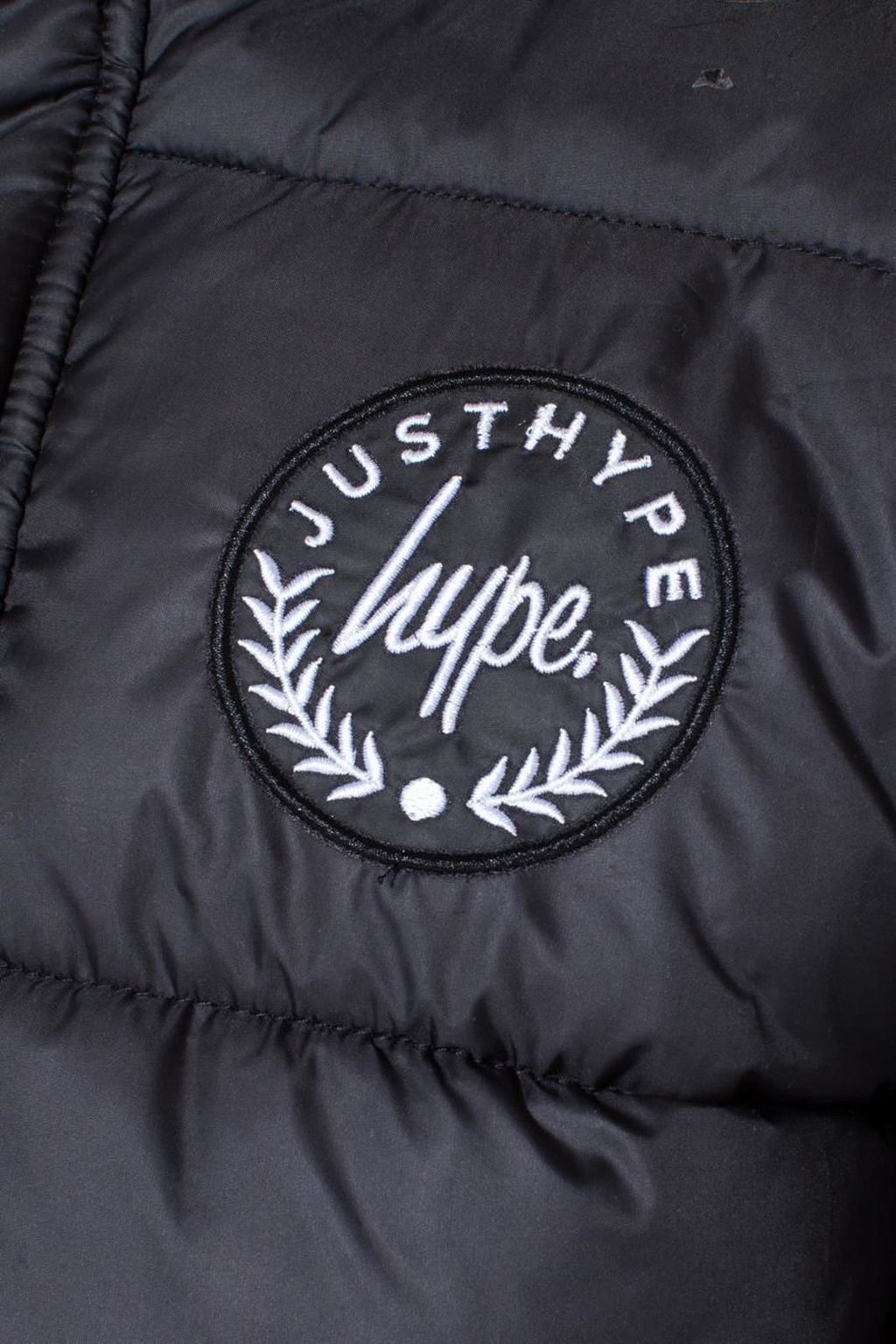 Hype Kids Crest Explorer Jacket Black
