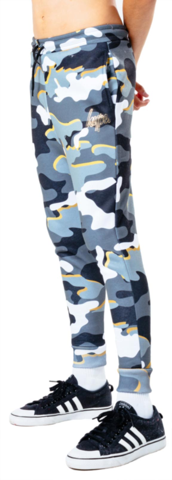 Hype Kids Gold Line Camo Jogger Bottoms Multi