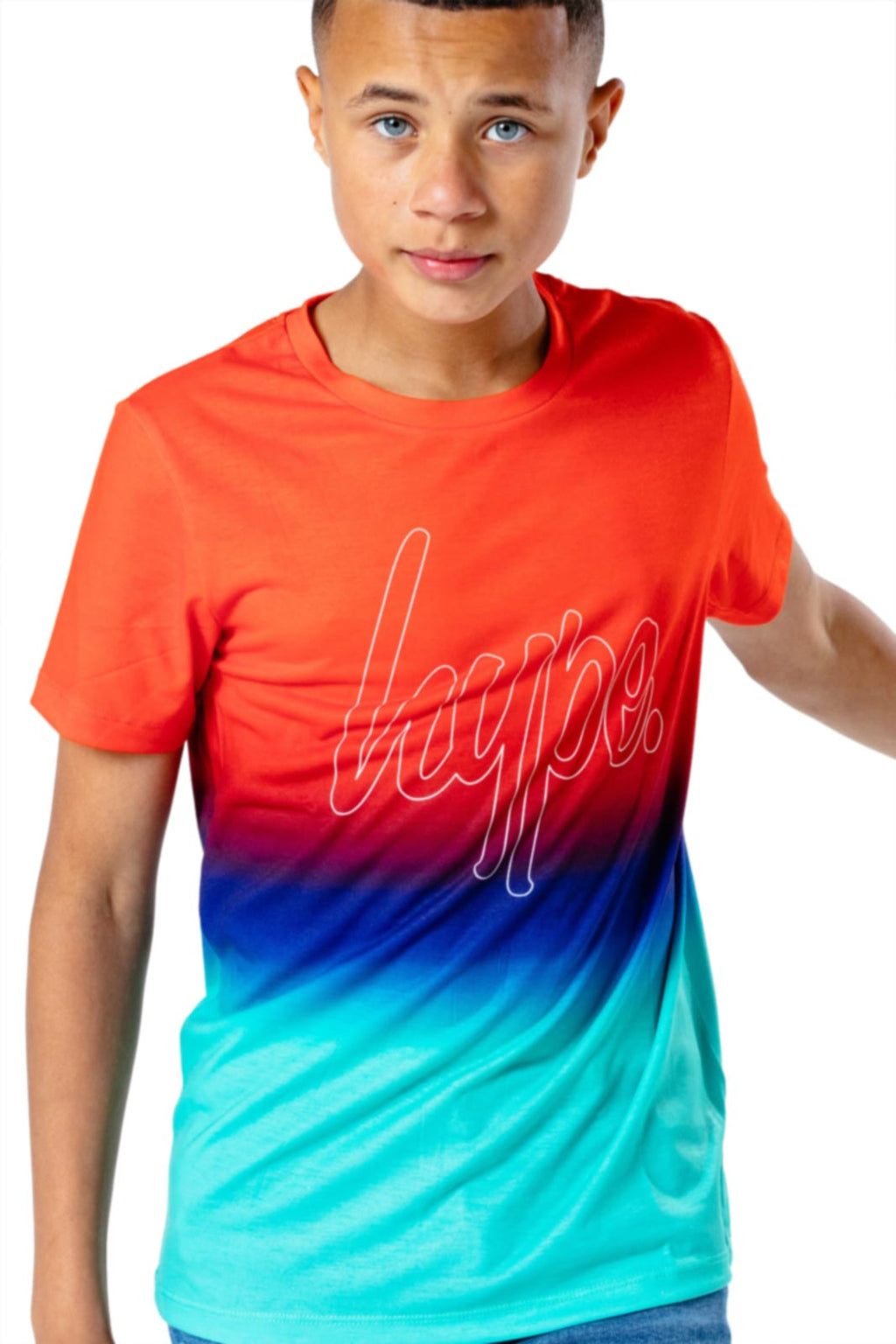 Hype Kids Lucky Fade T-Shirt Multi