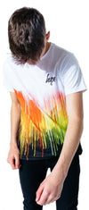 Hype Kids Rainbow Drips T-Shirt Multi