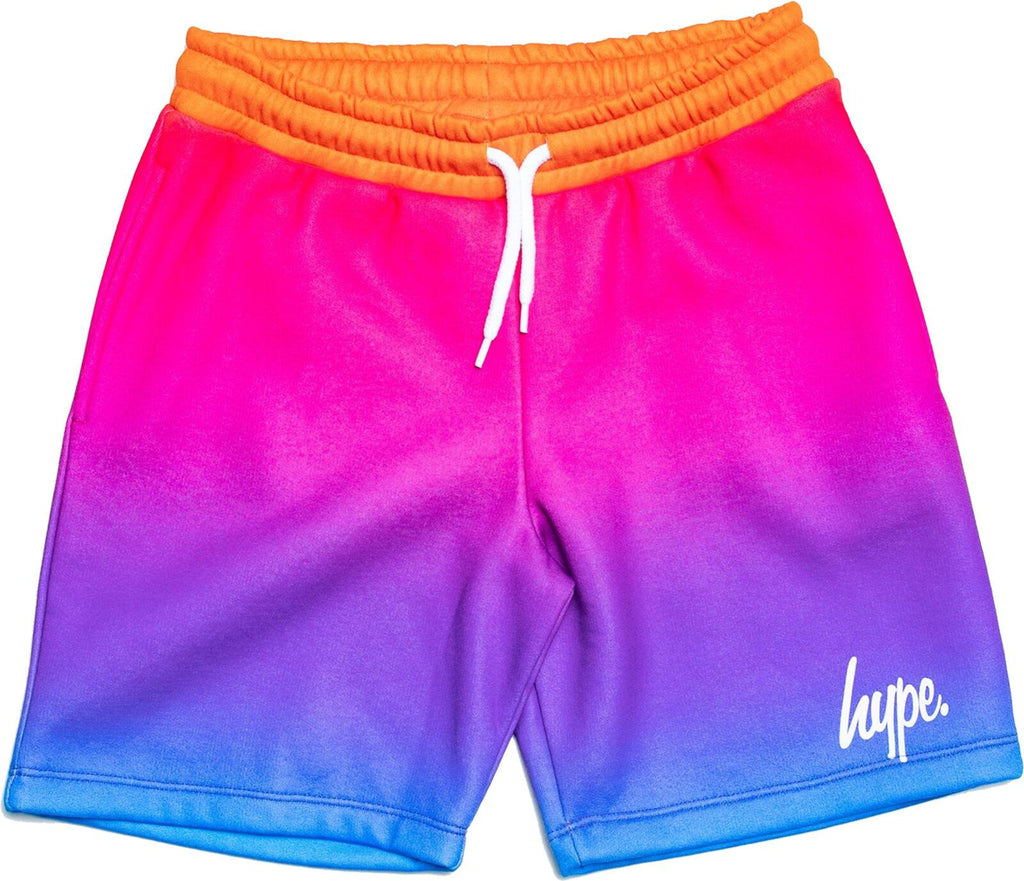 Hype Kids Script Fade Shorts Multi