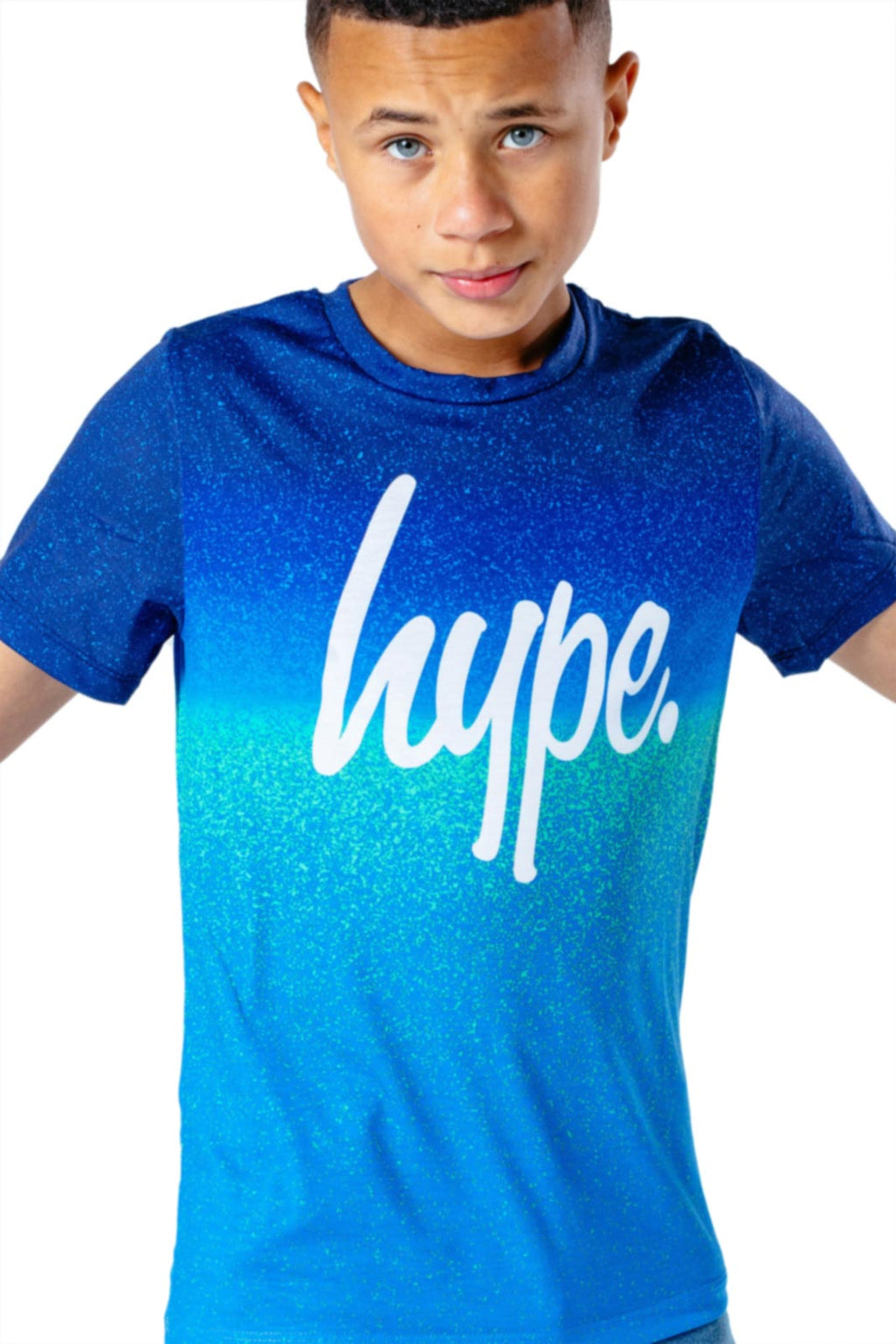 Hype Kids Sea Fade T-Shirt Blue