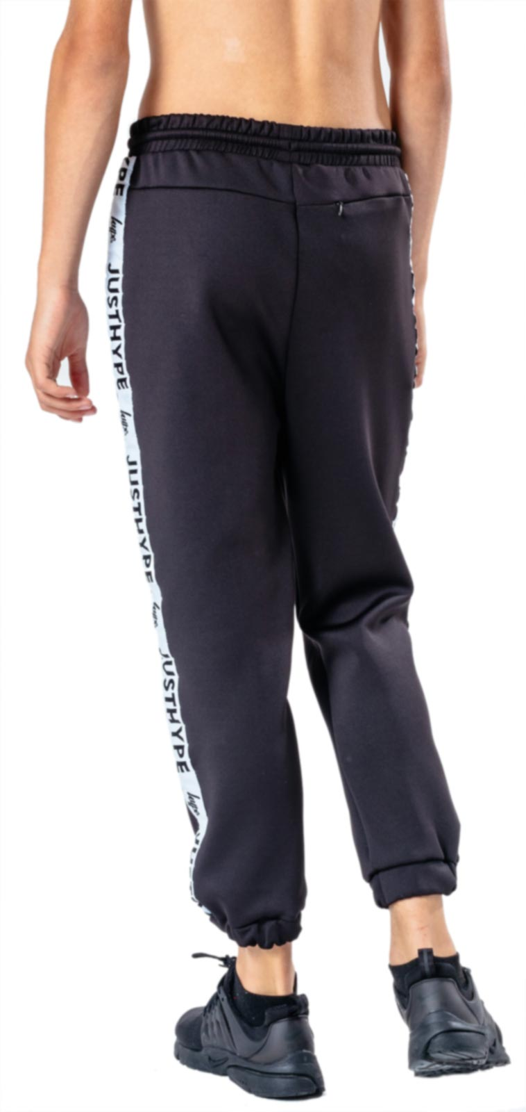 Hype Kids Speckle Fade Jogger Bottoms Black