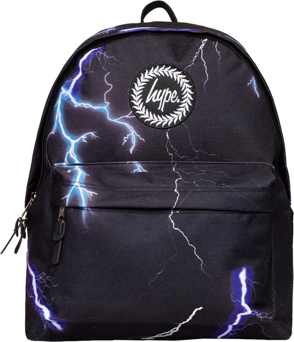 Hype Lightning Backpack Bag Black