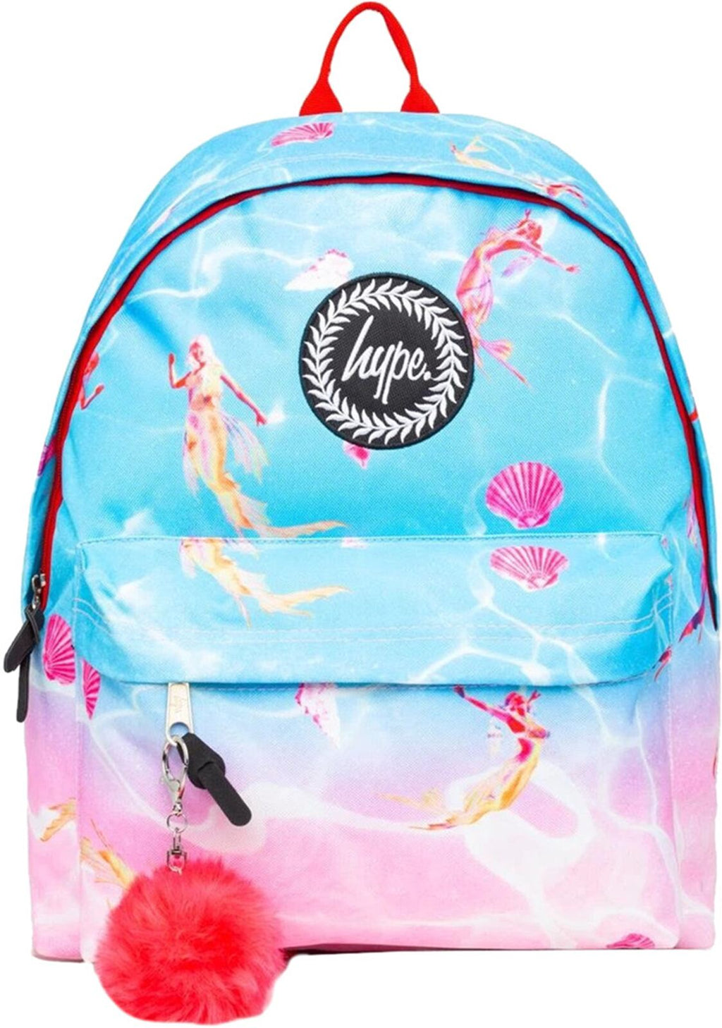 Hype Mermaid Backpack Bag Pink