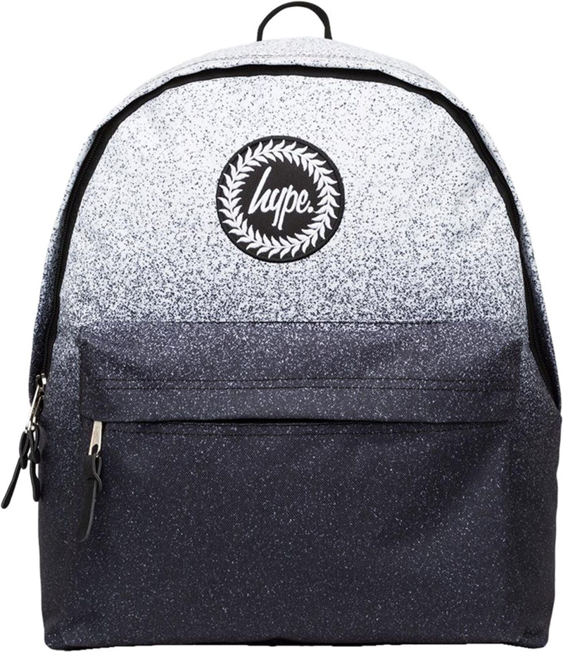 Hype Mono Speckle Fade Backpack Bag White