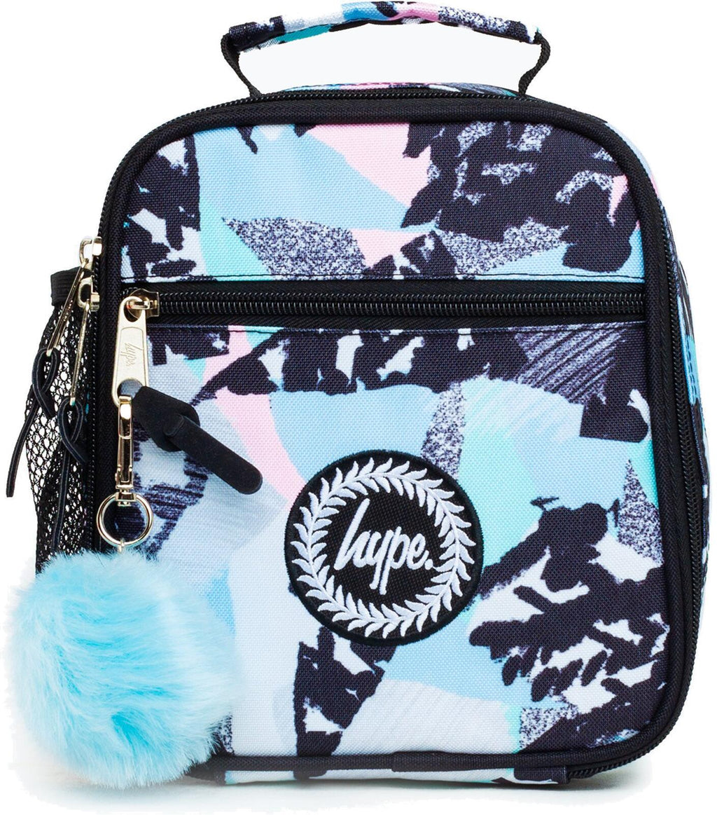 Hype Pastel Abstract Lunch Box Bag Multi