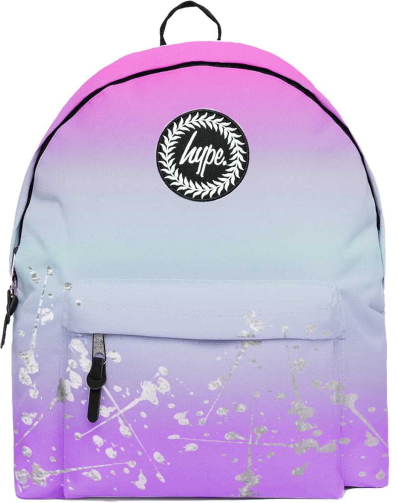 Hype Pastel Gradient Silver Speckle Backpack Bag Multi