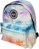 Hype Pastel Palm Tree Backpack Bag