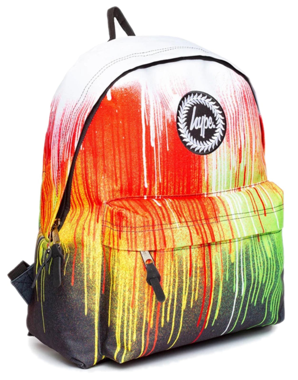 Hype Rainbow Drips Backpack Bag Multi
