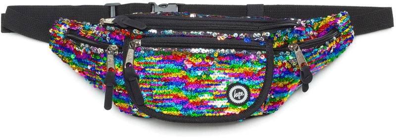 Hype Rainbow Sequin Bum Bag Multi